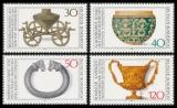 FRG MiNo. 897-900 set ** Archaeological Heritage, MNH