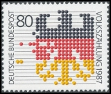 FRG MiNo. 1309 ** Census of Population, MNH