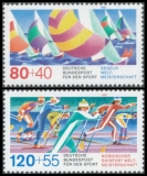 FRG MiNo. 1310-1311 set ** Sports Promotion Fund, MNH