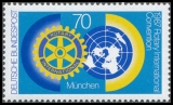 FRG MiNo. 1327 ** Rotary- Worldcongress, MNH