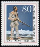 FRG MiNo. 1314 ** May, Karl, MNH