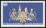FRG MiNo. 1329 ** Diocese Bremen, MNH