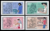 FRG MiNo. 1315-1318 set ** Youth: Handworkers, MNH