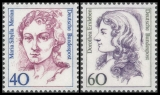 FRG MiNo. 1331-1332 set ** Women in German history, MNH