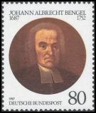 FRG MiNo. 1324 ** Bengel, Johann Albrecht, MNH