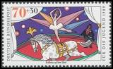 FRG MiNo. 1411-1414 set ** Youth 1989: Circus, MNH