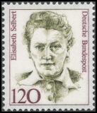 FRG MiNo. 1338 ** Women in German history, MNH
