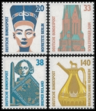FRG MiNo. 1398-1401 set ** Objects worth seeing, MNH