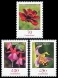 FRG MiNo. 3189-3191 set ** Flowers (XXXV), MNH