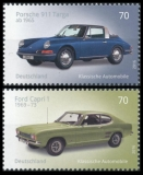 FRG MiNo. 3201-3202 set ** Series Classical German automobiles, MNH