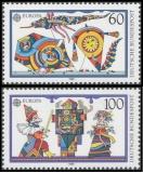 FRG MiNo. 1417-1418 set ** C.E.P.T. 1989 - Toys, MNH