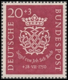 FRG MiNo. 121-122 set ** 200th death of Johann Sebastian Bach, MNH