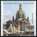 FRG MiNo. 3219 ** 350th birthday George Bähr, MNH