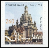 FRG MiNo. 3224 ** 350th birthday George Bähr, MNH, self-adhesive