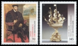 FRG MiNo. 3227-3228 set ** series Treasures from German Museums, MNH