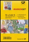 FRG MiNo. MH  98 (3136) ** Welfare 2015, stamp set, self-adhesive, MNH