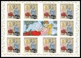 FRG MiNo. MH  98 (3136) ** Welfare 2015, stamp set, self-adhesive, MNH
