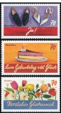 FRG MiNo. 3232-3234 set ** Definitive Series: Writing Prompts, MNH