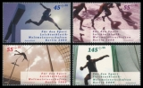 FRG MiNo. 2727-2730 ** Sports Aid 2009: IAAF World Championships Berlin, MNH