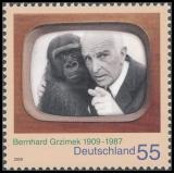 FRG MiNo. 2731 ** 100th anniversary of Bernhard Grzimek, MNH