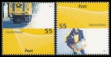 FRG MiNo. 2733-2734 set ** Post: Mail universal (II), MNH