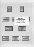SAFE 221416/1 dual Nachtrag Bundesrepublik Deutschland 1.Teil 2016 Bl. 222-226