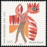 FRG MiNo. 2722 ** 100th anniversary of HAP Grieshaber, MNH