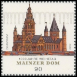 FRG MiNo. 2752 ** 1000th anniversary of the consecration of the Mainz Cathedral, MNH