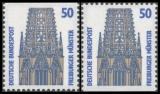 FRG MiNo. 1340C-1340D ** Objects worth seeing (I), C+D values, MNH