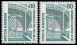 FRG MiNo. 1340C-1340D ** Objects worth seeing (I), C+D values, MNH
