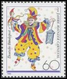 FRG MiNo. 1349 ** 150 years Mainz Carnival, MNH