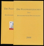 Yearbook 2008 Postage stamps of the Federal Republic of Germany without stamps