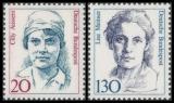 FRG MiNo. 1365-1366 set ** Women in German History (V), MNH