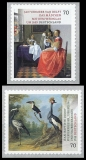 FRG MiNo. 3280-3281 Set ** Series Treasures from German Museums, MNH, self-adh.