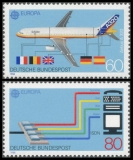 FRG MiNo. 1367-1368 set ** C.E.P.T. 1988: Transport- and communication, MNH