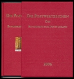 Yearbook 2006 Postage stamps of the Federal Republic of Germany without stamps