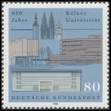 FRG MiNo. 1370 ** 600 years University of Cologne, MNH