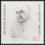 FRG MiNo. 1372 ** 100th birthday of Jean Monnet, MNH