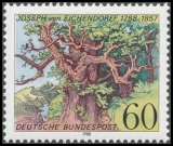 FRG MiNo. 1356 ** 200th birthday of Joseph von Eichendorff, MNH