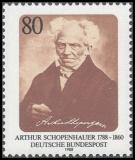 FRG MiNo. 1357 ** 200th anniversary of Arthur Schopenhauer, MNH