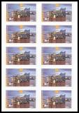 FRG MiNo. FB 63 (3286) ** Elbphilharmonie, foil sheet, self-adhesive, MNH