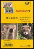 BRD MiNr. FB 64 (3293-3294) ** Iltis, Wildschwein, Folienbl., selbstkl., postfr.