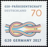 FRG MiNo. 3291 ** G20 Presidency of Germany, MNH