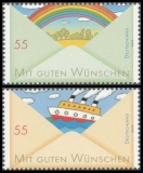 FRG MiNo. 2786-2787 set ** Post: Greeting Stamps (I), MNH