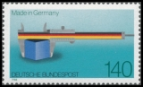 FRG MiNo. 1378 ** 100 years Made in Germany, MNH