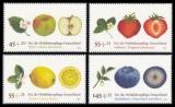 BRD MiNr. 2769-2772 Satz ** Wohlfahrt 2010: Obst, postfrisch