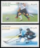 FRG MiNo. 2788-2789 ** Sports help (I): World Championships, MNH