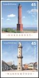 FRG MiNo. 2875-2876 set ** Lighthouses, MNH, self-adhesive