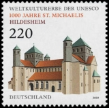 FRG MiNo. 2774 ** World Heritage: 1000 years of St. Michaels Church Hildesheim, MNH