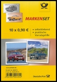 FRG MiNo. FB 66 (3301-3302) ** Classic German Cars, foil sheet, self-adh., MNH